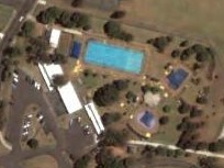 2004 - Aerial view of Merrylands Swimming Centre (19/1/2004)